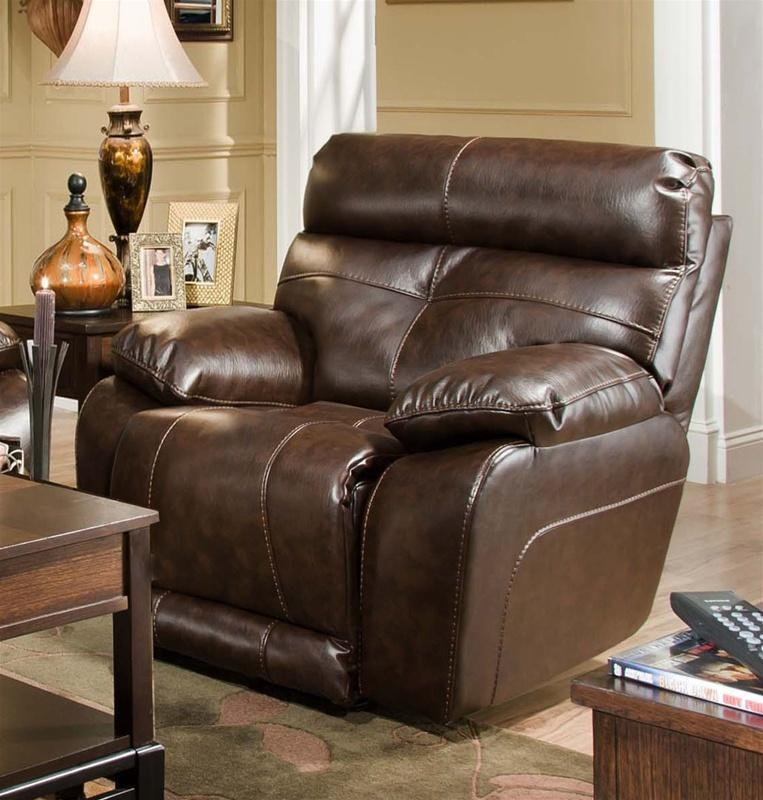 Seville Java Leather Reclining Sofacatnapper – 4901 With Regard To Catnapper Reclining Sofas (View 4 of 20)