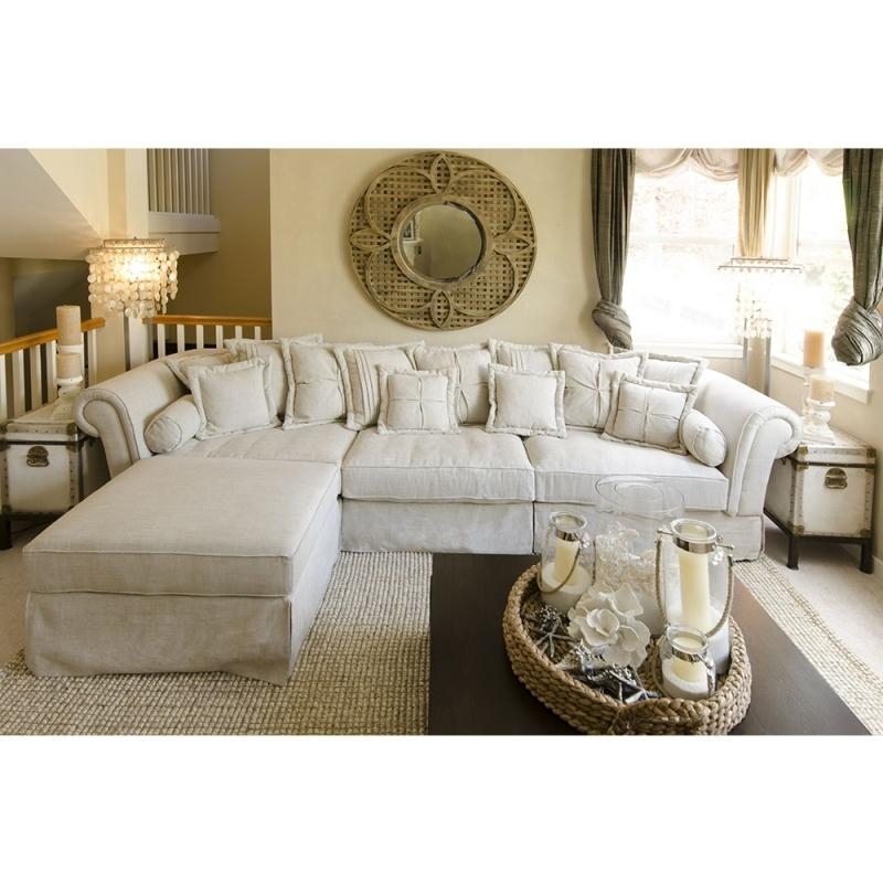 Shab Chic Sectional Couches Sectional Couches For Living Room In Shabby Chic Sectional Sofas Couches (Image 15 of 20)