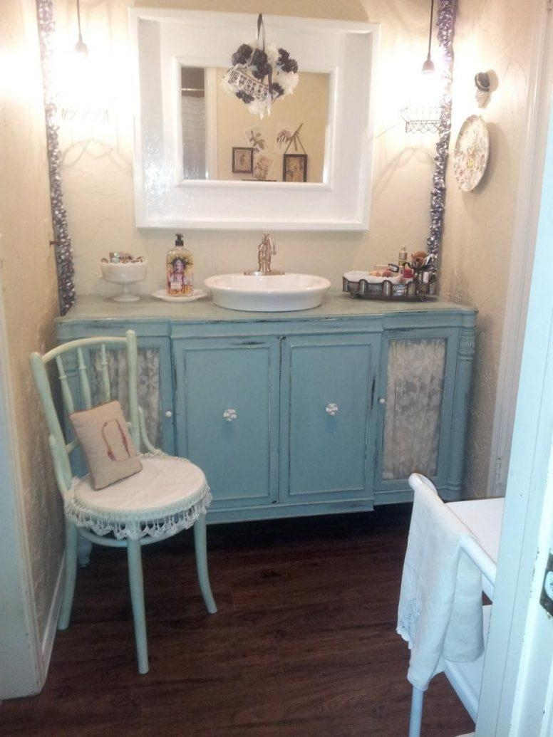 Shabby Chic Bathroom Furniture Large Frameless Glass Wall Mirror Regarding Shabby Chic Long Mirror (Image 14 of 20)