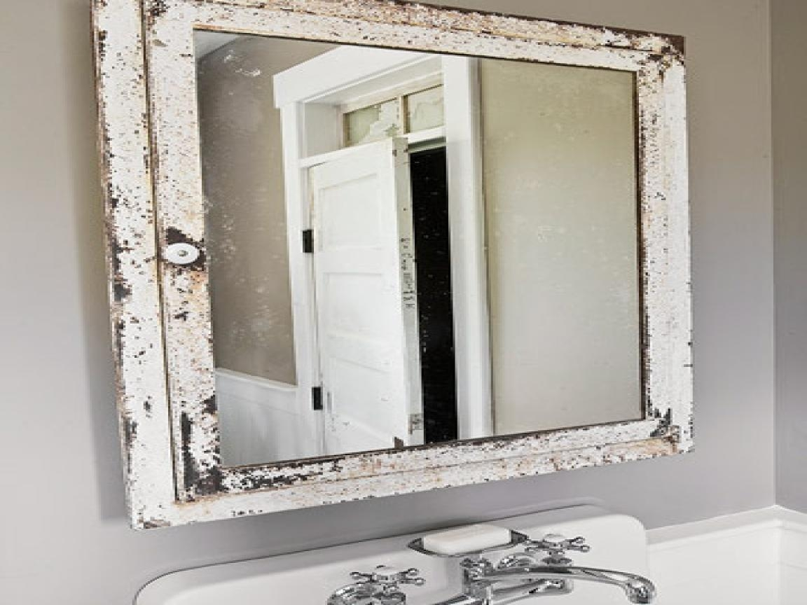 Shabby Chic Bathroom Mirror 44 Fascinating Ideas On Silver Gilded In Mirror Shabby Chic (Image 13 of 20)