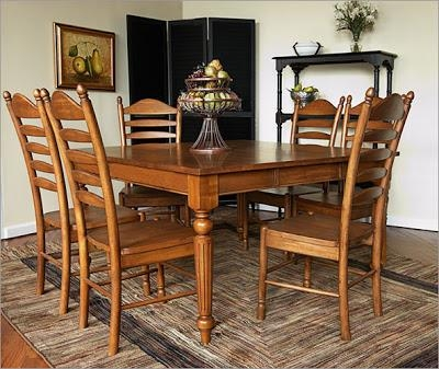 Shabby Chic Dining Table And Chairs – Pueblosinfronteras With Regard To Mayfair Dining Tables (Image 19 of 20)