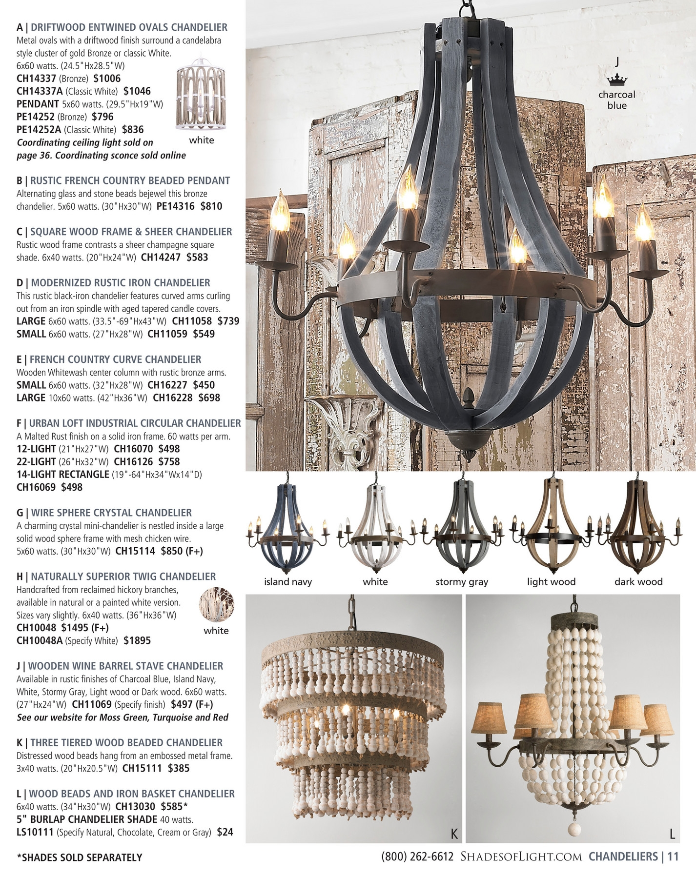 Shades Of Light Farmhouse Classics 2017 Page 10 11 With Small Turquoise Beaded Chandeliers (Image 24 of 25)