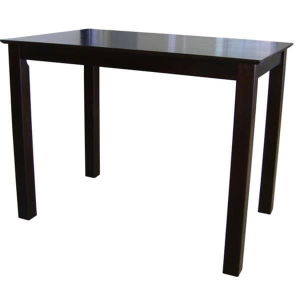 Shaker Styled Counter Height Table – Free Shipping Today Pertaining To Counter Height Sofa Tables (View 15 of 20)