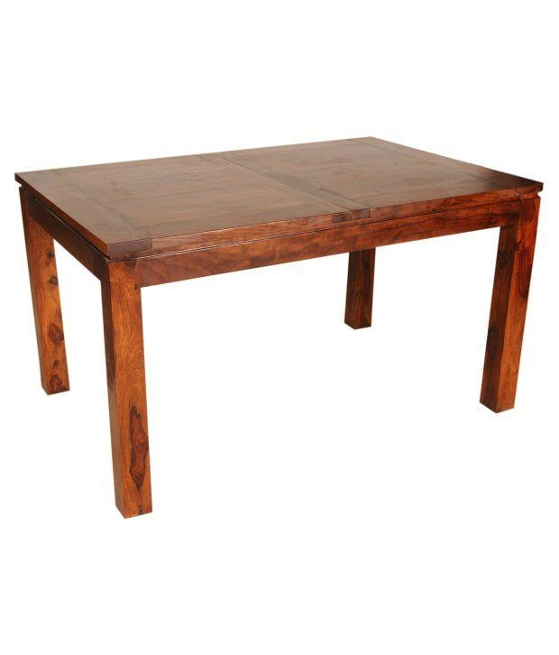 Sheesham Wood Extendable Dining Table – Buy Sheesham Wood Throughout Sheesham Wood Dining Tables (Image 15 of 20)