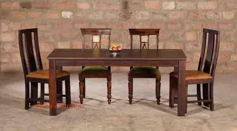 Sheesham Wood Restaurant Furniture/ Dining Tables & Chairs In Sheesham Wood Dining Tables (Image 16 of 20)