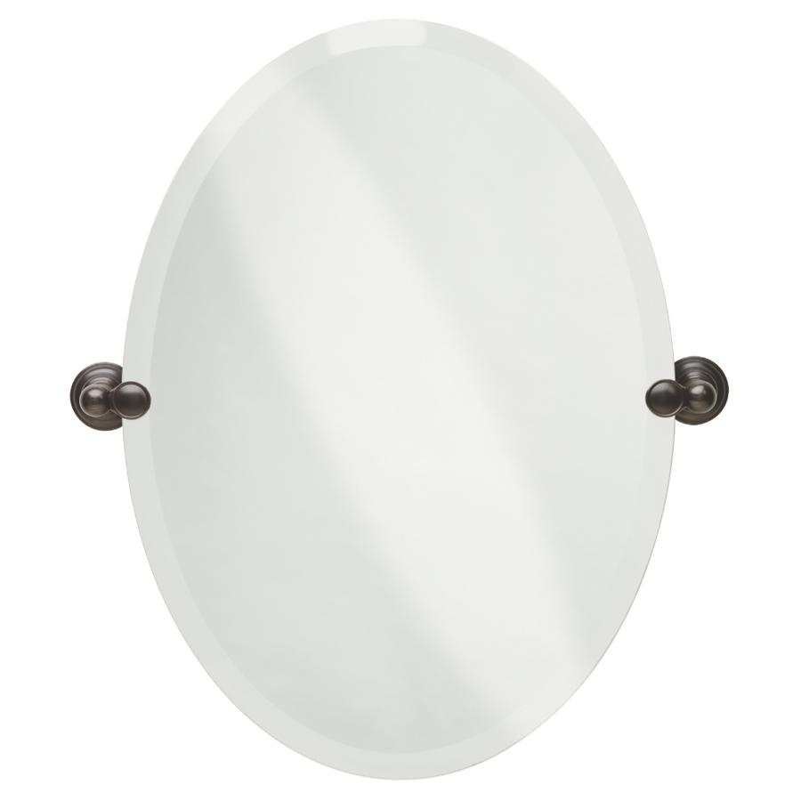 Shop Bathroom Mirrors At Lowes Pertaining To Beveled Edge Oval Mirror (View 15 of 20)