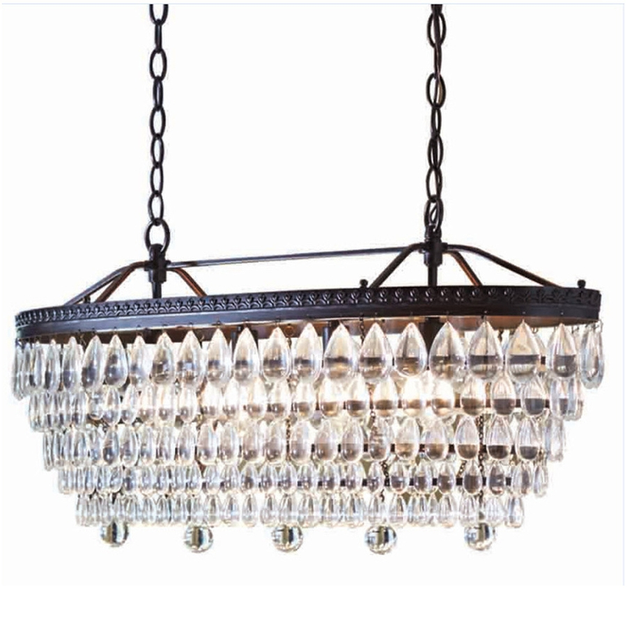 Shop Chandeliers At Lowes In 4 Light Crystal Chandeliers (Image 15 of 25)