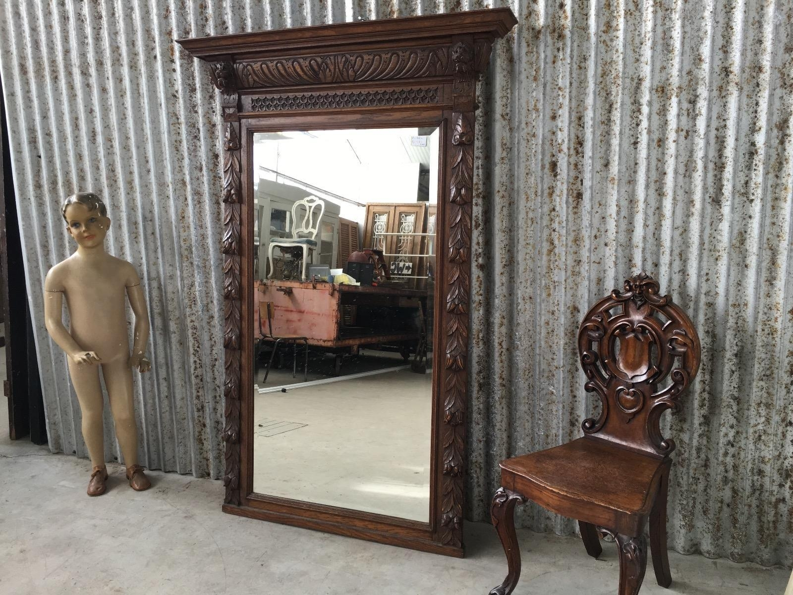 Shop Fittings – Burbri In Big Antique Mirror (View 10 of 20)