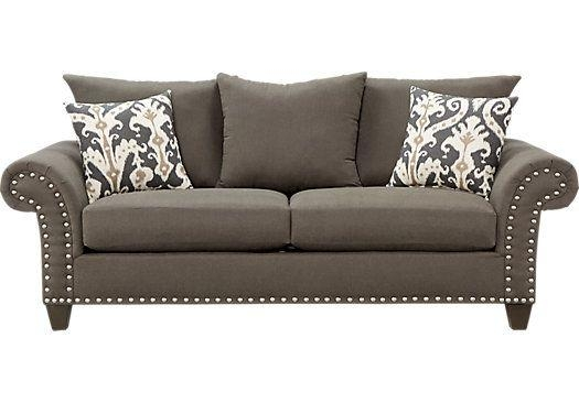Shop For A Marymount Gray Sofa At Rooms To Go (Image 20 of 20)