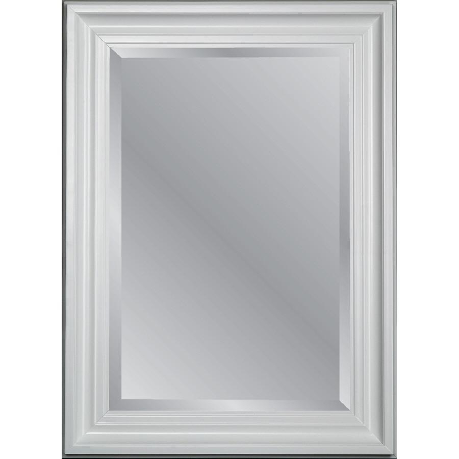 Shop Mirrors At Lowes Throughout Long Frameless Mirror (View 11 of 20)