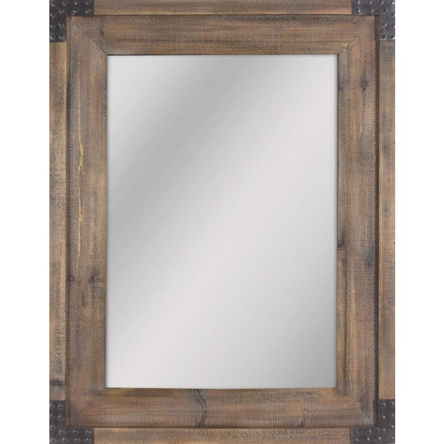 Shop Mirrors & Mirror Accessories At Lowes Pertaining To Large Pewter Mirror (Image 18 of 20)