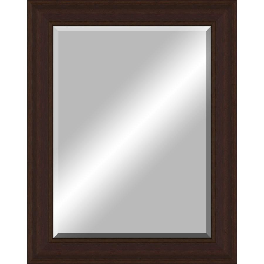 Shop Oil Rubbed Bronze Rectangle Framed Wall Mirror At Lowes Inside Bronze Wall Mirror (Image 17 of 20)