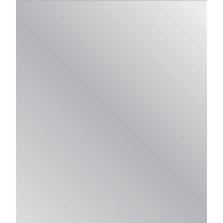 Shop Style Selections Silver Polished Frameless Wall Mirror At Pertaining To Frameless Wall Mirrors (Image 18 of 20)