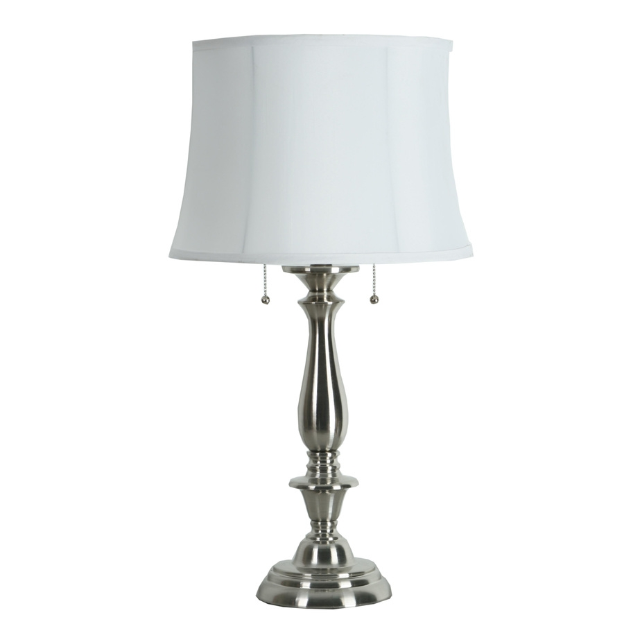 Shop Table Lamps At Lowes For Small Crystal Chandelier Table Lamps (Image 18 of 25)