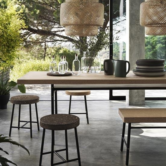 Shop The Trend: Cork | Ideal Home Within Cork Dining Tables (View 2 of 20)