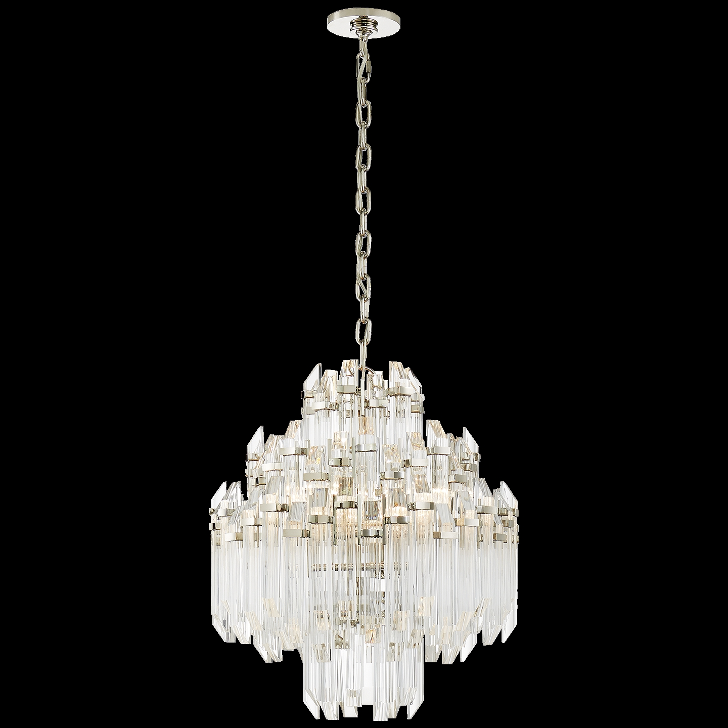 Signature Designer Crystal Chandelier Circa Lighting With Regard To Waterfall Chandeliers (Image 18 of 25)