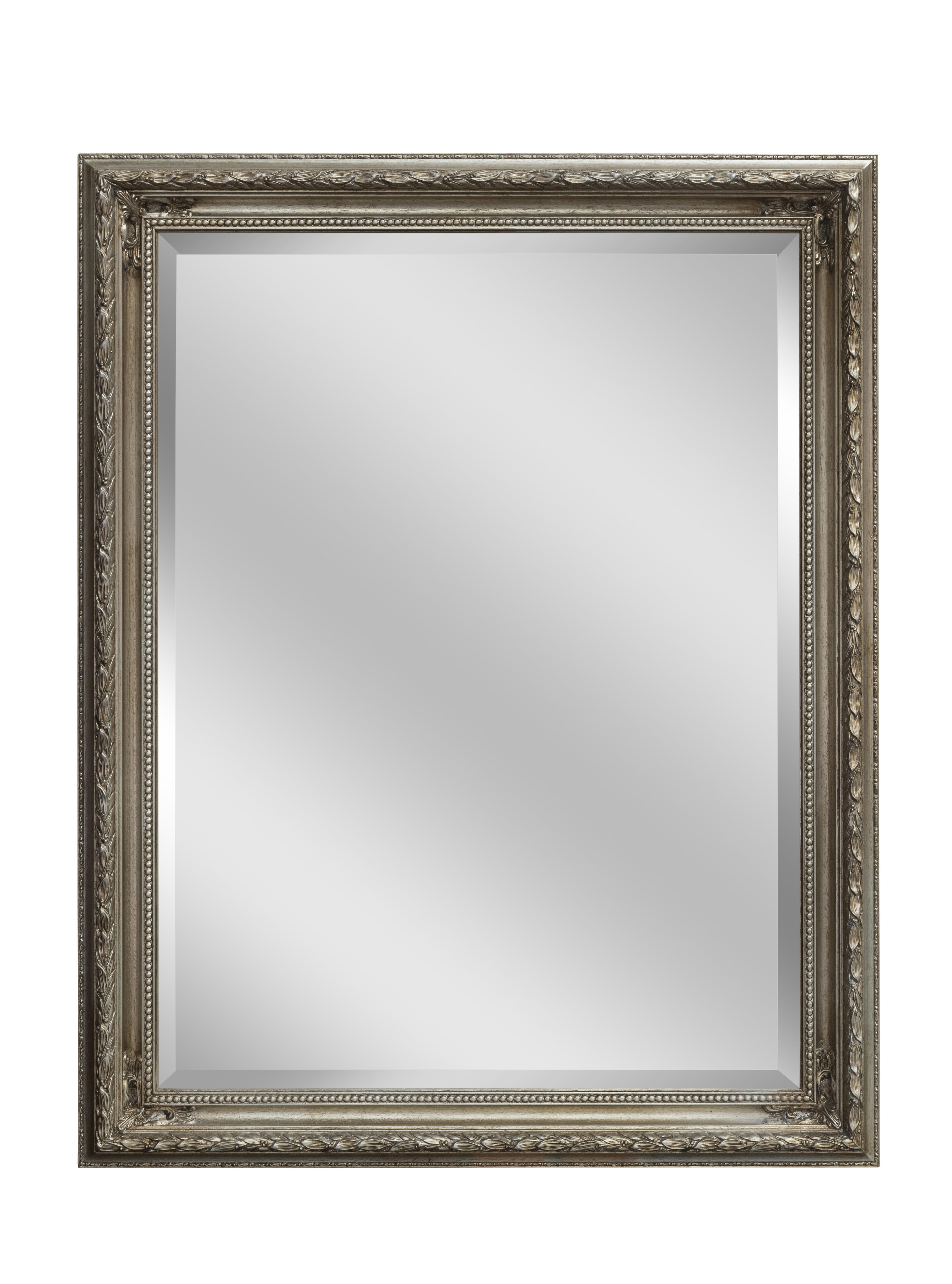 Silver Baroque Mirror | Large Mirrors For Sale – Panfili Mirrors Throughout Large Baroque Mirror (View 16 of 20)