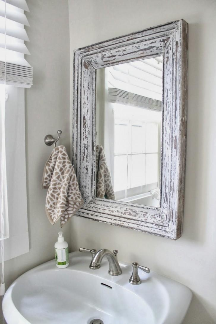 Silver Bathroom Mirror Rectangular – Harpsounds (Image 14 of 20)