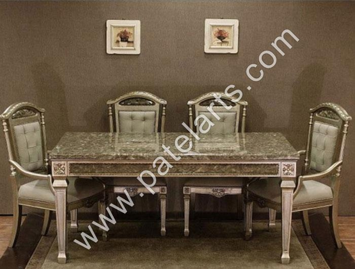 Silver Dining Set, Dining Table, Silver Dining Sets, Manufacturers Pertaining To Royal Dining Tables (Image 18 of 20)