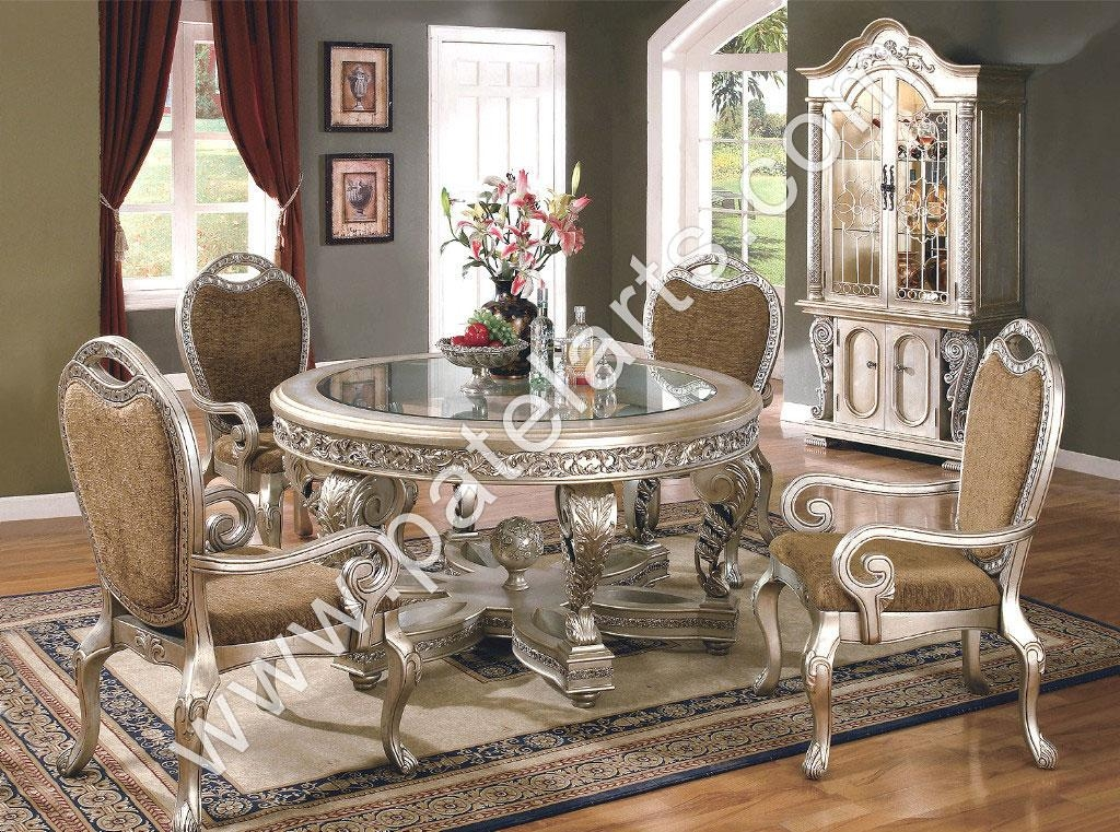 Silver Dining Set, Dining Table, Silver Dining Sets, Manufacturers Pertaining To Royal Dining Tables (Image 17 of 20)