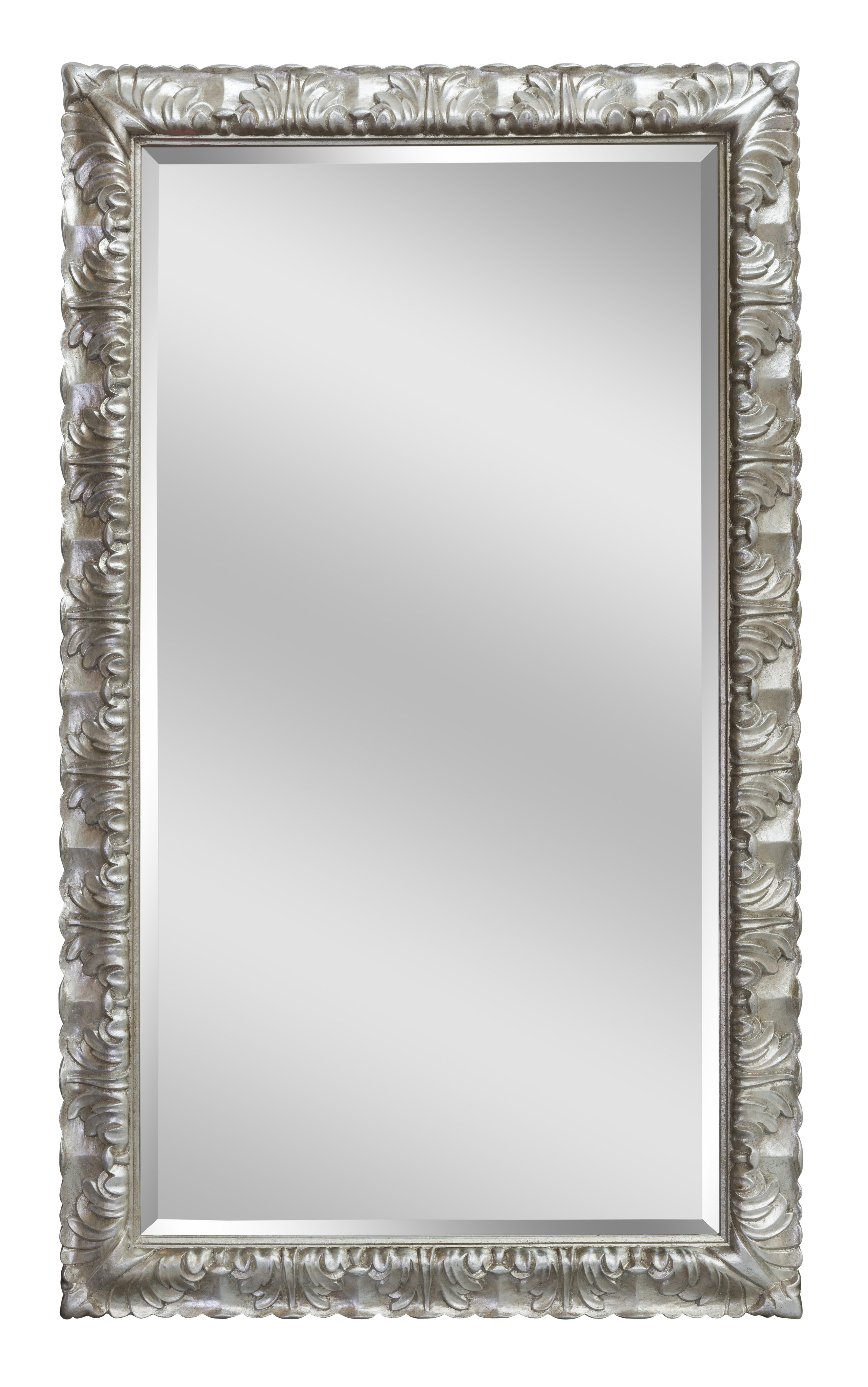 Silver Donatello Long Mirror | Bedroom Mirrors For Sale – Panfili With Regard To Silver Long Mirror (Image 14 of 20)
