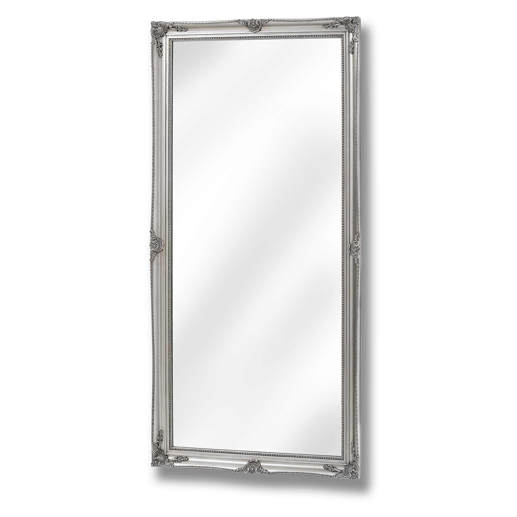 Silver Full Length Mirror 41 Stunning Decor With Large Full Length Inside Silver Long Mirror (Image 16 of 20)