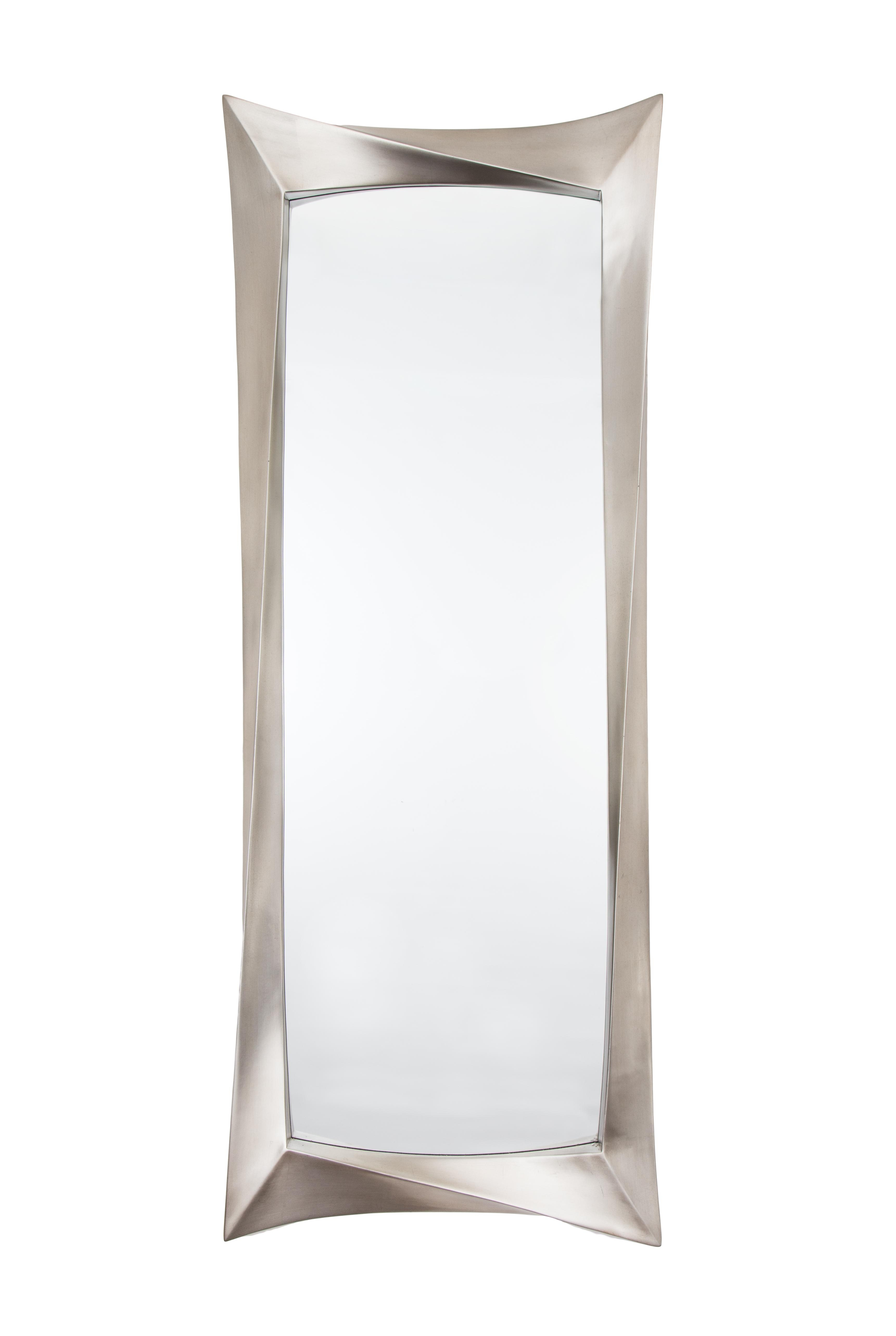 Silver Long Wall Mirror Intended For Silver Long Mirror (Image 18 of 20)
