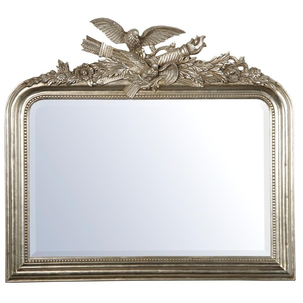 Silver Mirrors With Silver Gilt Mirror (Image 20 of 20)