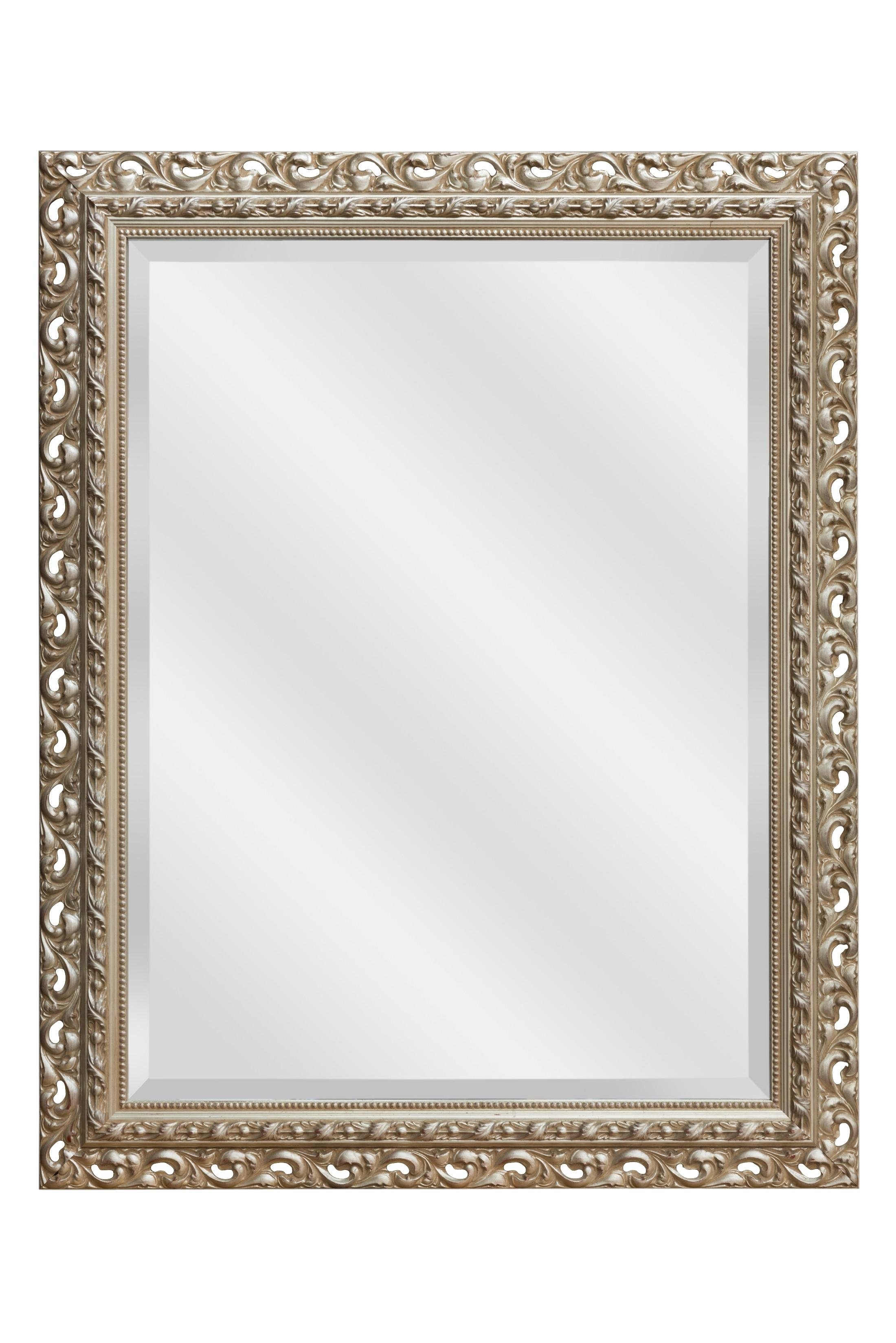 Silver Rococo Mirror | Silver Mirrors For Sale – Panfili Mirrors Pertaining To Roccoco Mirror (Image 19 of 20)