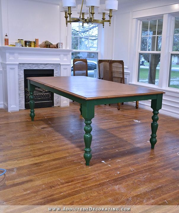 Simple Design Green Dining Table Peaceful Ideas Industrial Green For Green Dining Tables (Image 20 of 20)