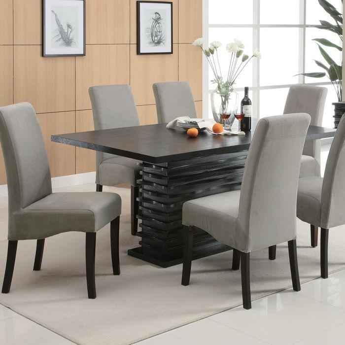 Simple Design Modern Dining Table Set Homely Idea Marble Top With Regard To Modern Dining Table And Chairs (View 12 of 20)