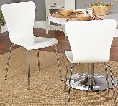 Simple Living Pisa Dining Table And Set Of 2 White Bentwood Chairs In Pisa Dining Tables (View 5 of 20)