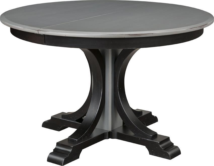 Single Pedestal Dining Tablekeystone In Verona Dining Tables (Image 11 of 20)