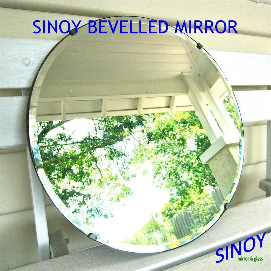 Sinoy 3Mm – 6Mm Beveled Edge Mirror Glass In Different Shapes For In Round Bevelled Mirror (View 4 of 20)
