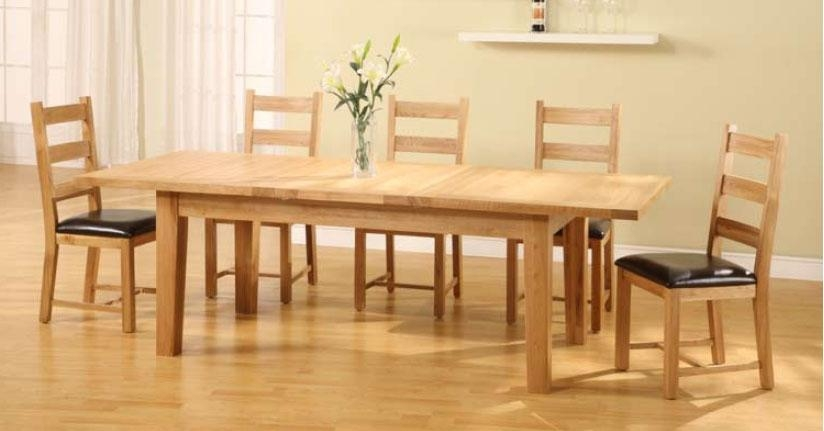 Size Of Rectangular Dining Table For 8 Dining Table Dimensions Throughout Extending Rectangular Dining Tables (Image 18 of 20)