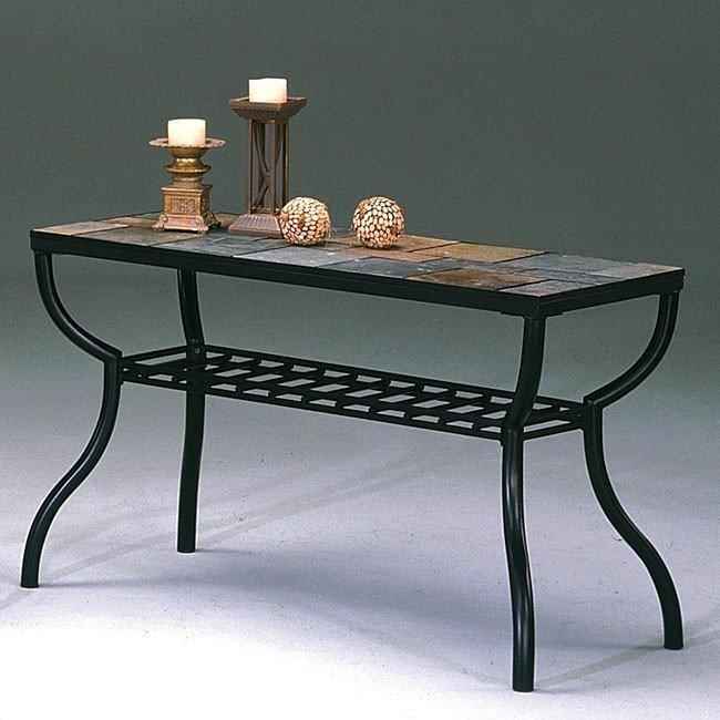Slate Sofa Table World Imports | Furniturepick Within Slate Sofa Tables (Image 11 of 20)