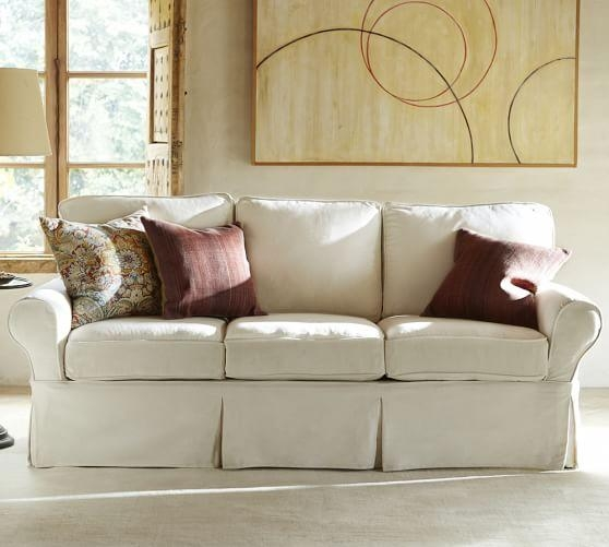 Slip Covered Sofas | Design Your Life With Slipcover Style Sofas (View 12 of 20)