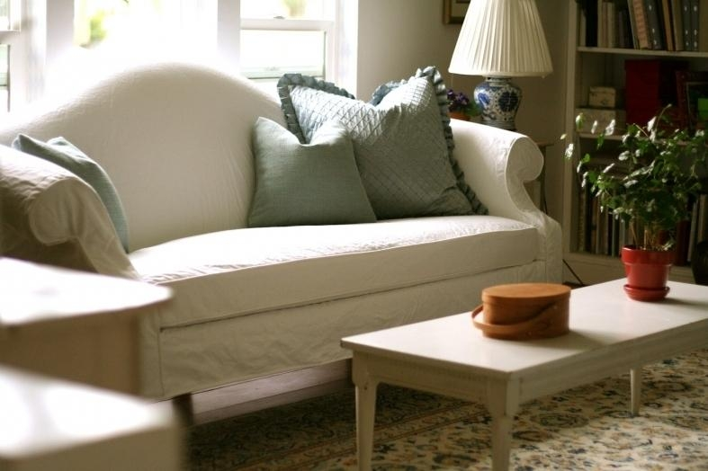 Slipcover For Camelback Sofa | Sofa Designs And Ideas In Camelback Sofa Slipcovers (Image 15 of 20)