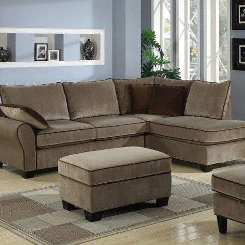 Small 2 Piece Sectional Sofa – Thesofa Intended For 2 Piece Sectional Sofas (Image 18 of 20)