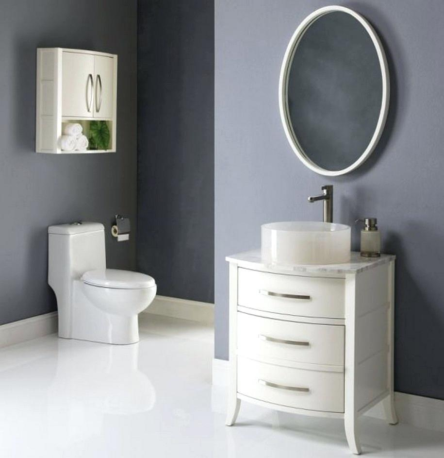 Small Bathroom Mirror – Amlvideo With Regard To Oval Shaped Wall Mirrors (Image 15 of 20)