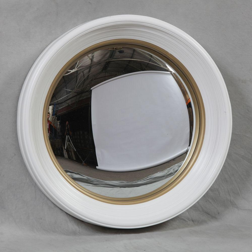 Small Convex Mirror For Creating Striking Wall Decoration | Homesfeed With Small Round Convex Mirror (View 9 of 20)
