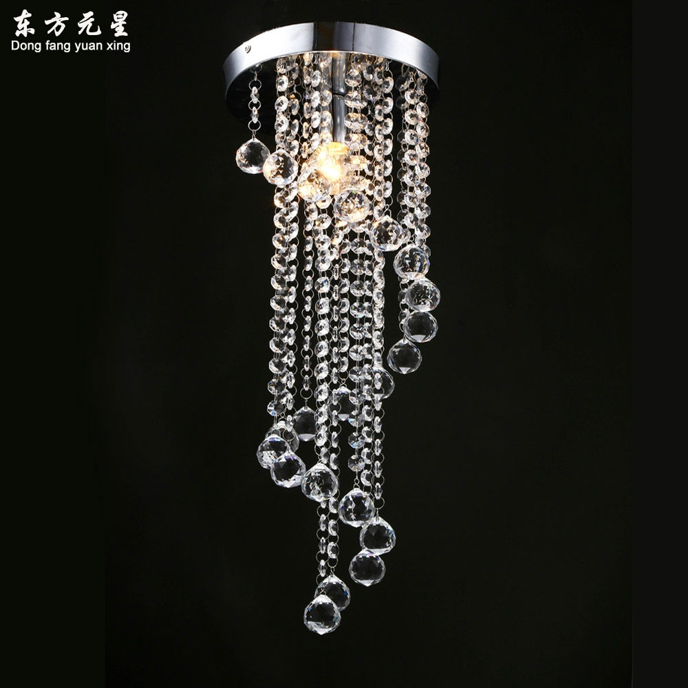 Small Crystal Chandeliers Promotion Shop For Promotional Small With Regard To Hallway Chandeliers (View 24 of 25)