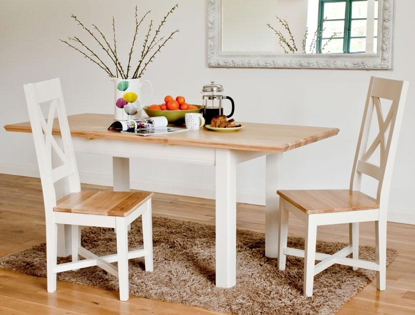 Small Dining Table White Dining Dining Tables White Small Inside Small Extending Dining Tables (Image 13 of 20)
