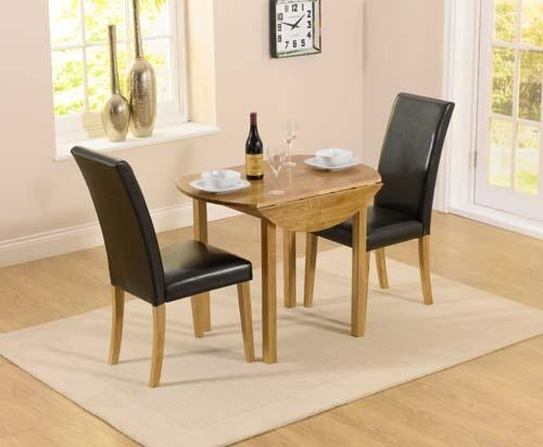Small Dining Table With 2 Chairs | Ciov For Small Dining Tables For  (Image 14 of 20)