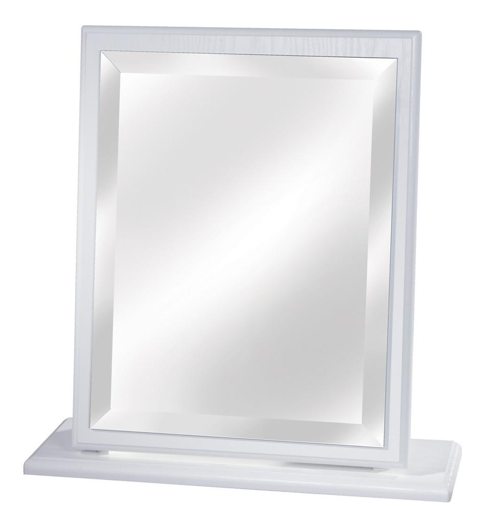 Small Dressing Table Mirror White, Cream, Oak, Beech Or Driftwood Intended For Dressing Table Mirrors (Image 13 of 20)