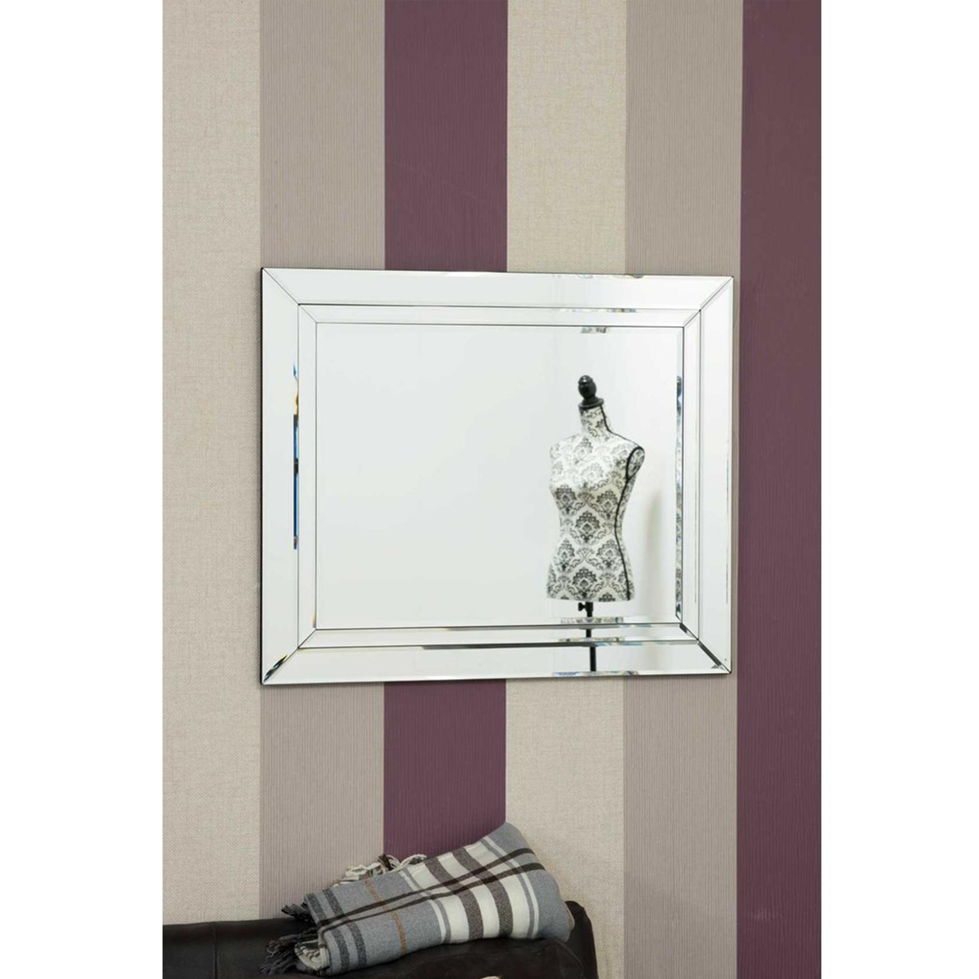 Small Glass Frameless Venetian Mirror | Brand New Venetian Mirrors In Small Bevelled Mirror (View 13 of 20)