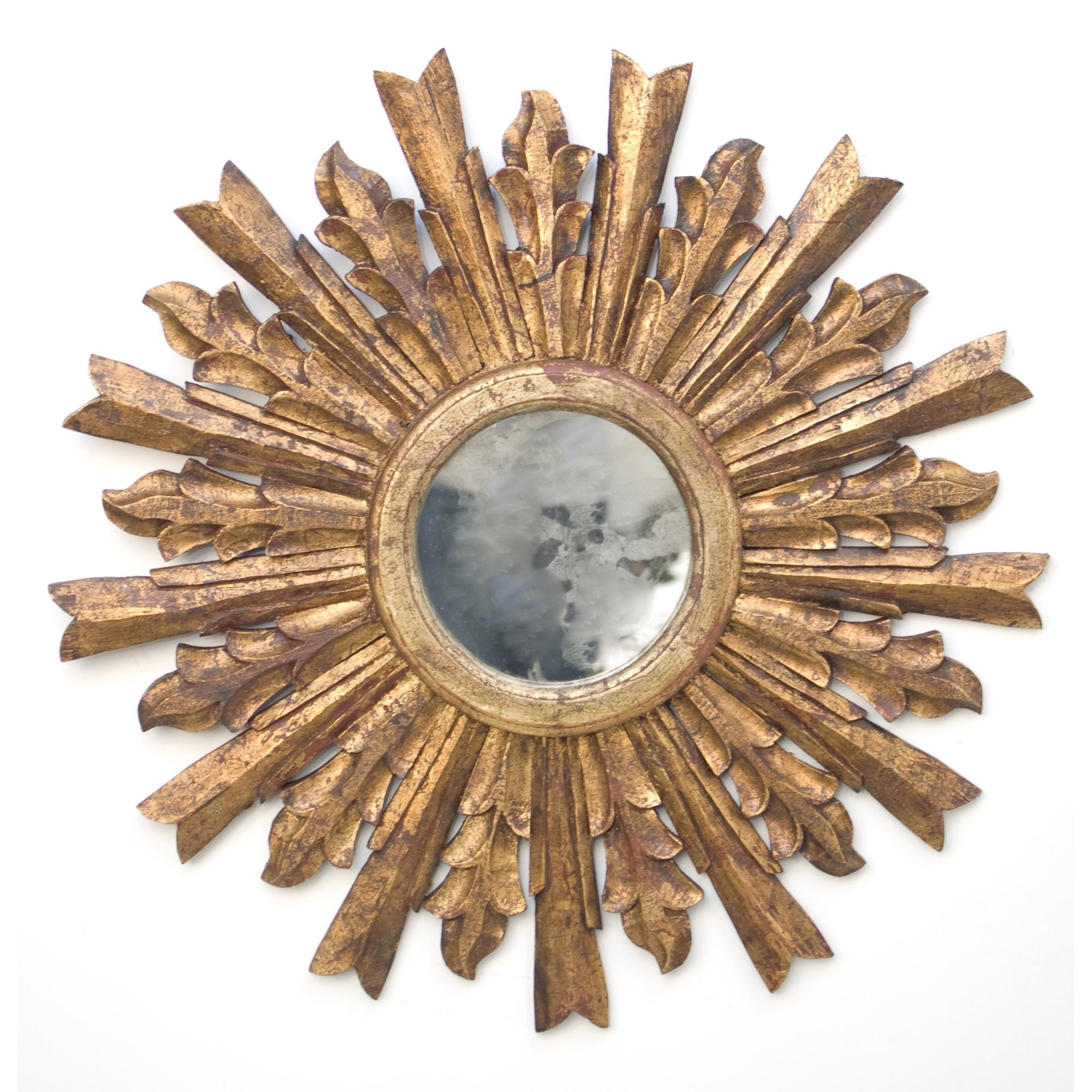 Small Gold Sunburst Mirror 106 Fascinating Ideas On Oversized Throughout Small Gold Mirrors (View 6 of 20)