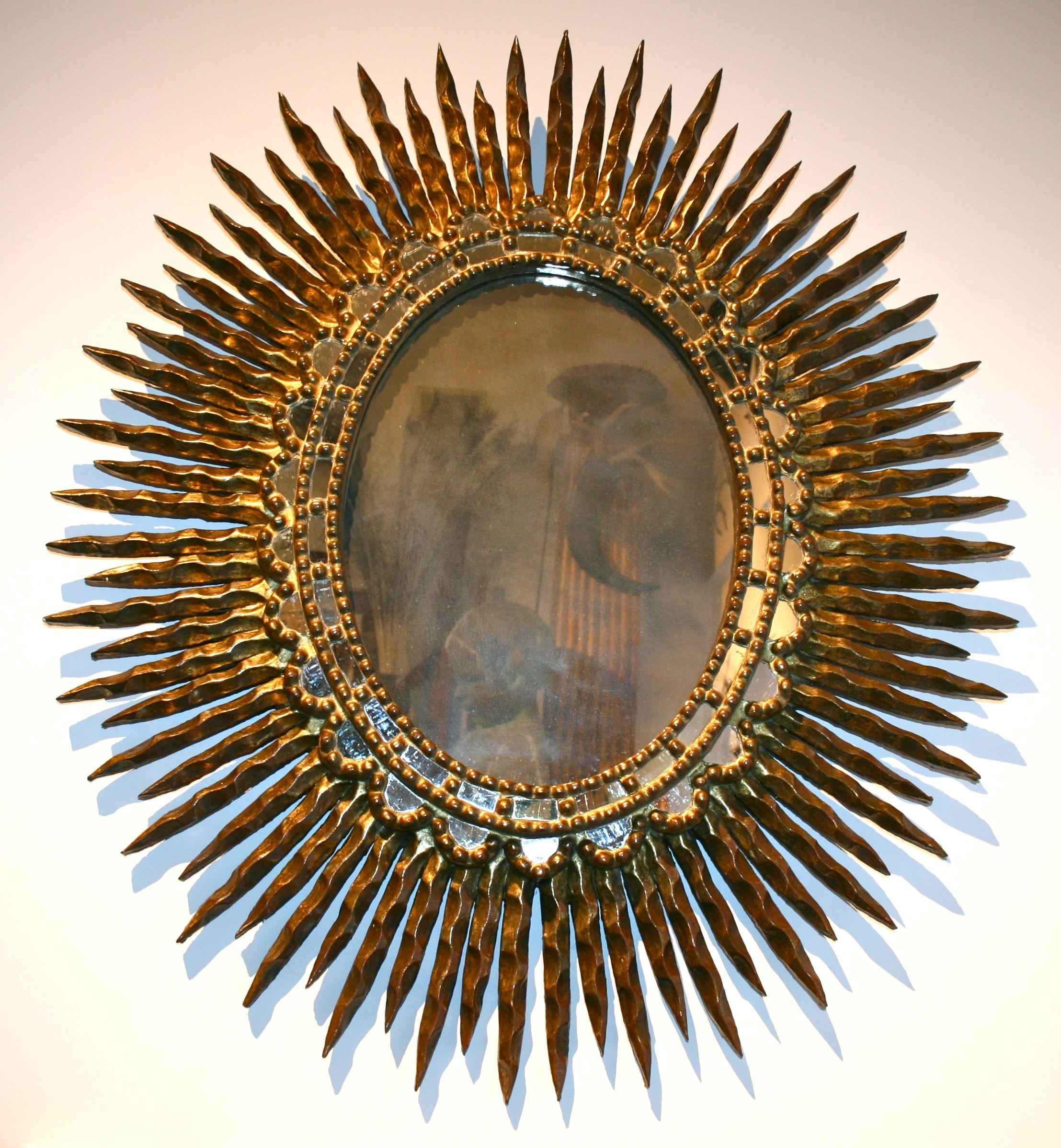 Small Gold Sunburst Mirror 11 Stunning Decor With Elegant Gold Regarding Small Gold Mirrors (View 15 of 20)