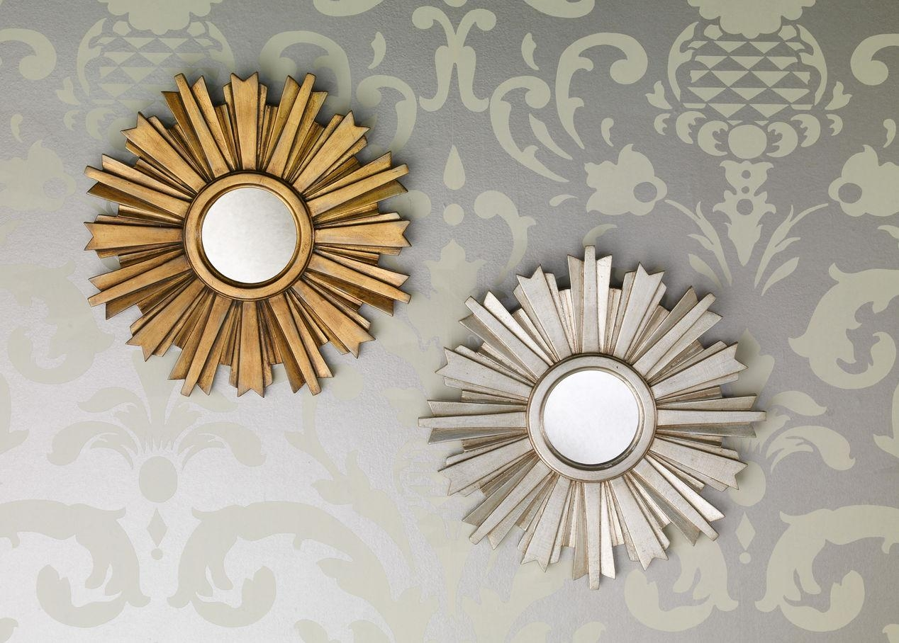 20 Ideas Of Small Gold Mirrors