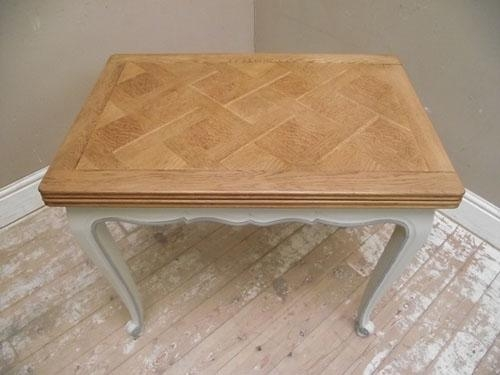 Small Retro Dining Tables | Home Design Ideas Essentials In French Extending Dining Tables (Image 18 of 20)